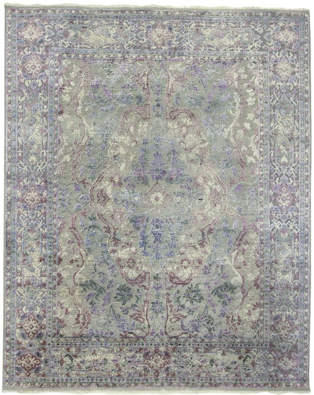 Modern Wool Silk Vintage