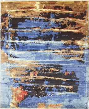 Modern Art Silk